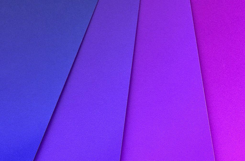紫色は変化の色